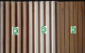 供应优质竹波浪装饰面板